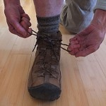 Boot Lacing Technique