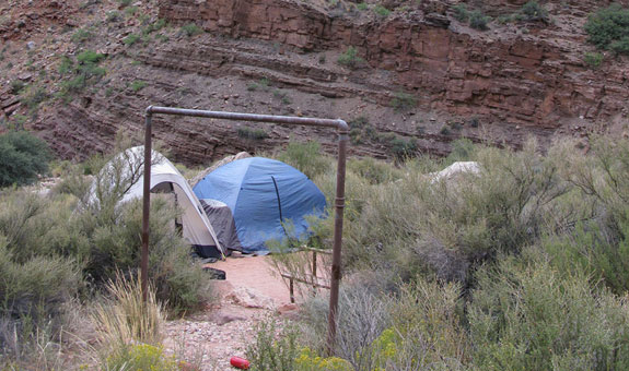 Cottonwood Campsite | Photo courtesy of Grand Canyon National Park - by Mike Quinn
