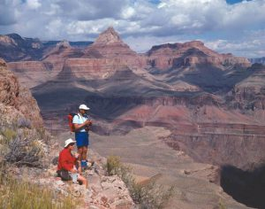 Hikers on the South Kaibab Trail | Photo courtesy of Grand Canyon National Park - by Mike Quinn
