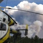 Wildfire Prompts Evacuations on North Rim