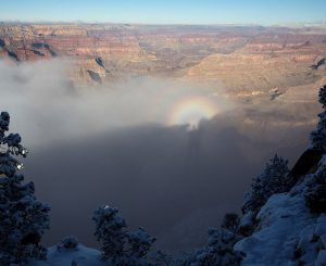 Brocken spectre seen from the South Rim | Photo by Mike Buchheit
