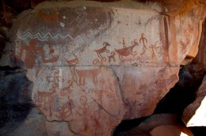 Sedona rock art panel
