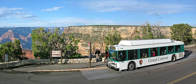 Shuttle at Monument Creek Vista | NPS Photo by Mike Quinn