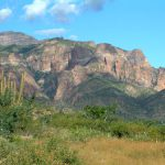 The spectacular La Giganta Mountain range