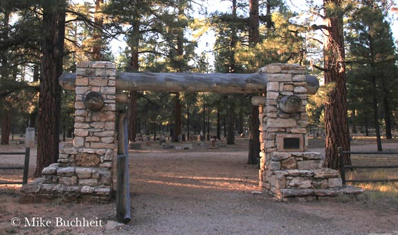 Grand Canyon Pioneer Cemetery | Photo by Mike Buchheit