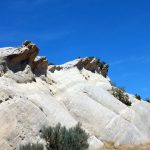 Great sandstone formations in backcountry