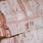 Two Mile Pictographs on the Bright Angel Trail