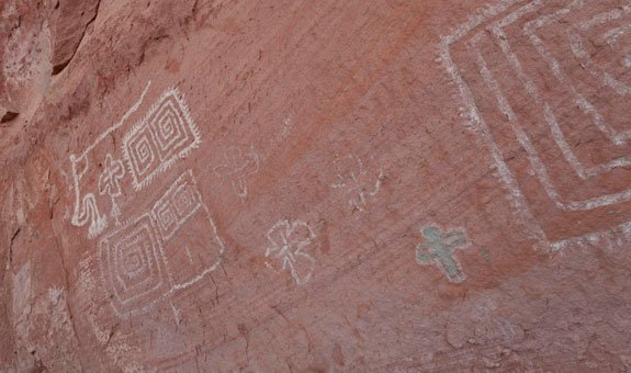 Loy Canyon Pictographs | Photo by Larry Lindahl