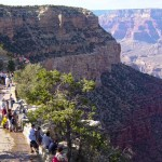 Rim Trail on the South Rim | Photo courtesy of Grand Canyon National Park - by Mike Quinn