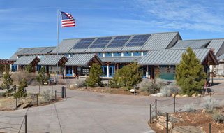 South Rim Visitor Center | Photo courtesy of NPS by Mike Quinn