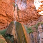Ribbon Falls on the North Kaibab Trail