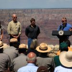 Vice President and NPS Director Visit South Rim
