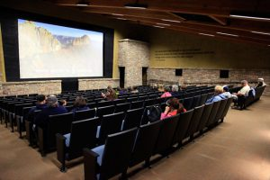 Grand Canyon Theater showing orientation film | Photo by Mike Buchheit