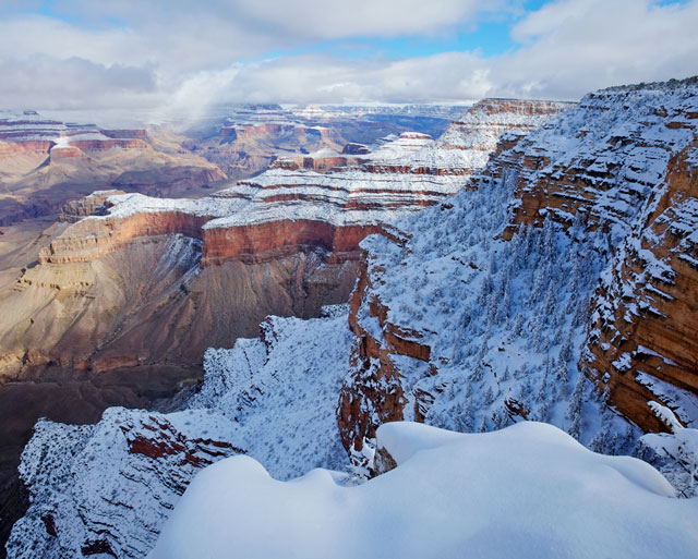 Grand Canyon winter scene | Photo by Mike Buchheit