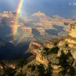 Rainbow into the Canyon | Photo by Mike Buchheit