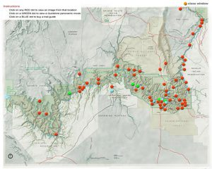 Virtual Map of Grand Canyon | Visit Site for an Interactive Tour!