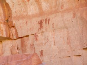 Petroglyphs near 2 Mile Corner on the Bright Angel Trail | Photo by Denise Traver