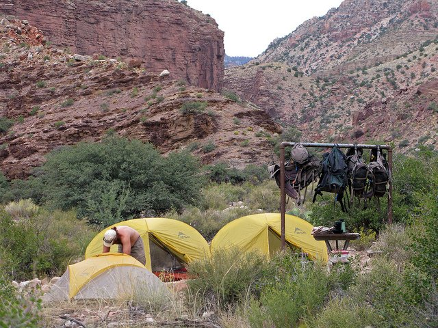 Cottonwood Camp Hit The Trail At Grand Canyon