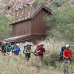 Cottonwood Toilets - Courtesy of NPS by Mike Quinn