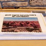 Grand Canyon's 90th Anniversary cake