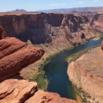 Looking downstrem from Horseshoe Bend Overlook