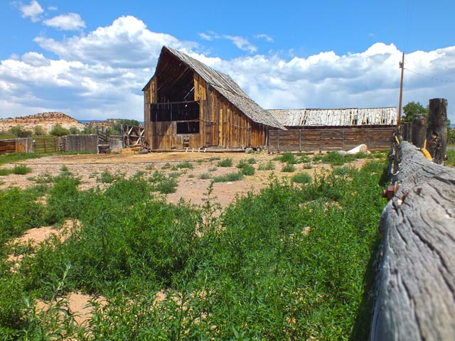 Great old barn in Boulder