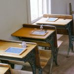 Desks in Historic Fruita School House