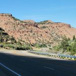 Heading west from Dinosaur National Monument