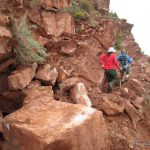 South Kaibab Trail Rock Slide | Photo by Chris Brothers