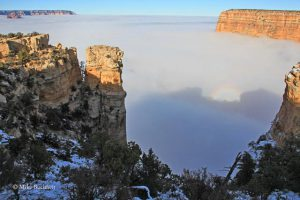Grand Canyon inversion from Moran Point | Photo by Mike Buchheit