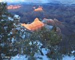 Yaki Point after Snowstorm breaks 39-day dry spell | Photo by Mike Buchheit