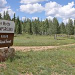 DeMotte Park Campground Entrance | Photo courtesy of U.S. Forest Service