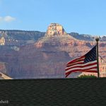 The American Flag flies over Kolb Studio | Photo by Mike Buchheit