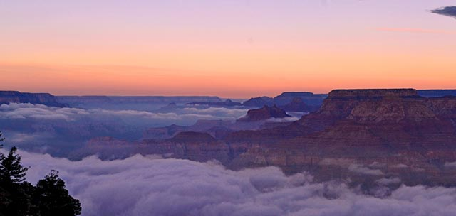 Sunset Inversion | NPS Photo - Maci MacPherson