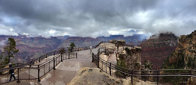 Mather Point Inversion | NPS Photo - Erin Whittaker