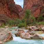 Havasu Creek, one of the water sources at risk from uranium mining on the South Rim.