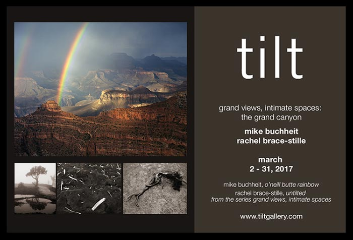 Tilt Gallery Exhibit - Old Town Scottsdale | Mike Buchheit & Rachel Brace-Stille