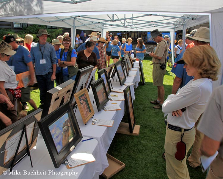 Art Auction at the Celebration of Art | Photo by Mike Buchheit
