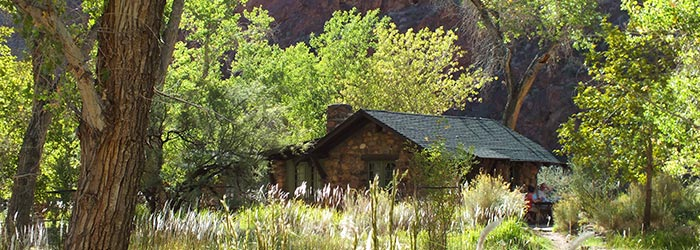 Phantom Ranch cabin | Photo by Denise Traver