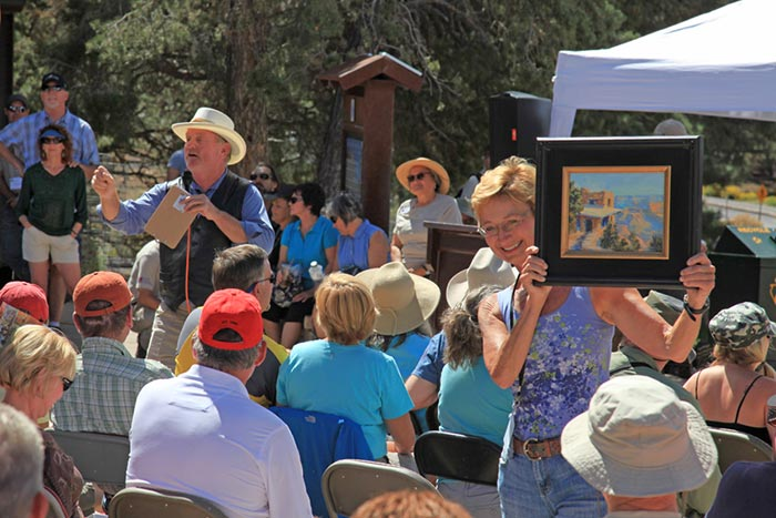 """Celebration of Art"" annual fundraiser for Grand Canyon National Park 