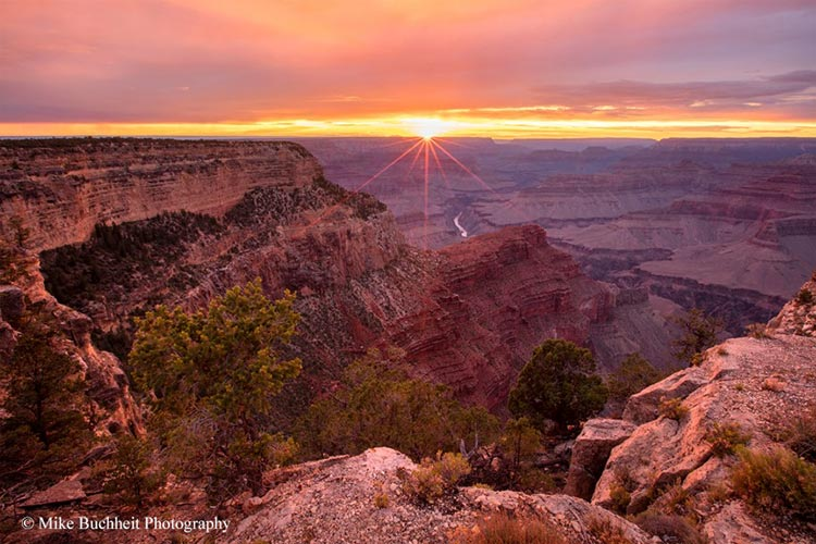 A memorable monsoon sunset near Hopi Point | Photo by Mike Buchheit