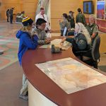Mather Point Visitor Center is once again open for business