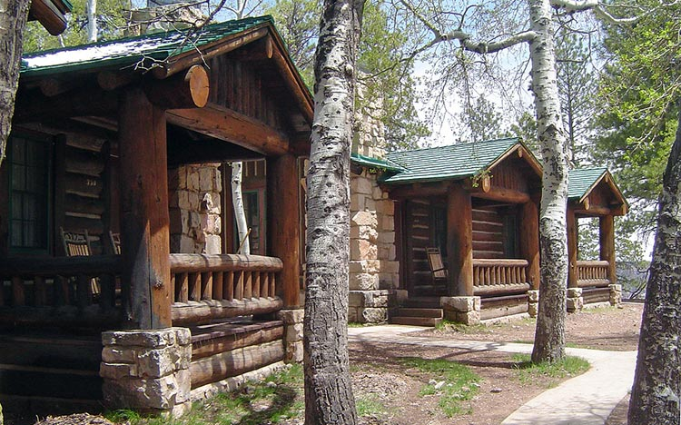 North Rim Cabins | NPS Photo by Mike Quinn