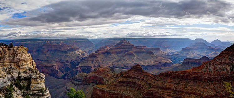 Summer storm clouds over the Grand Canyon | NPS Photo by W. Tyson Joye