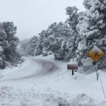 Snowstorm knocks out power and closes roads | NPS Photo