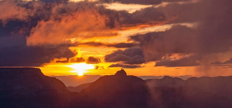 Yavapai Point Sunset | NPS Photo by Mike Quinn