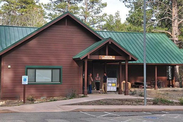 North Rim Grand Canyon Admin Building - Backcountry Permit Office | NPS Photo