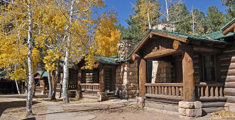 North Rim Lodge Cabins | NPS Photo by Michael Quinn