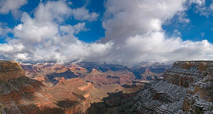 View from Verkamp's Visitor Center on the South Rim | NPS Photo by Mike Quinn