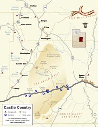 Click for PDF Castle Country Map (202 KB)
